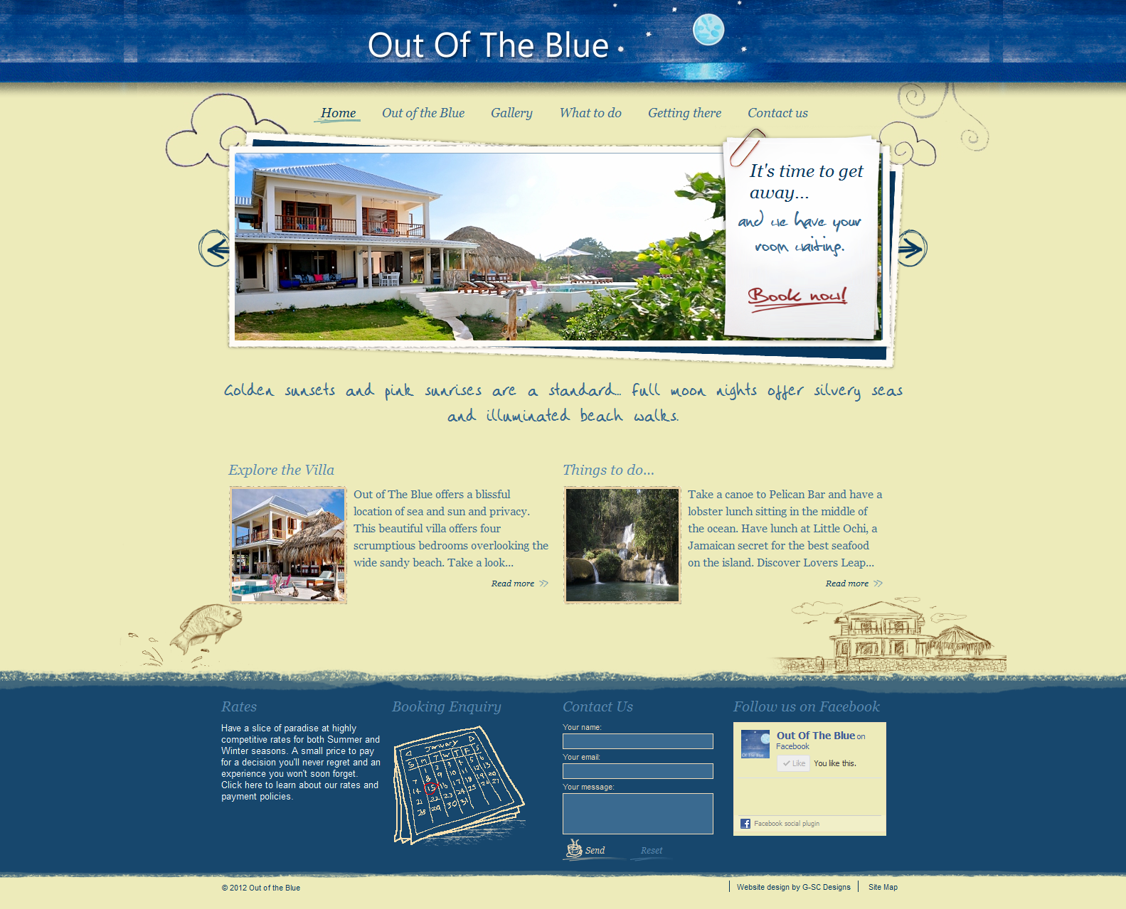 Out of the Blue Villa